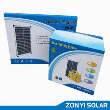 solar dc lighting system china 20w solar dc light system mp3 radio fan 4pcs solar light zy