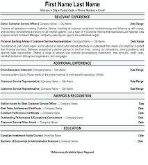 customer service resume templates customer service sle resume customer service manager resume