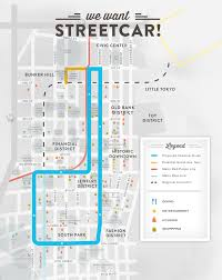 Los Angeles Train Map by Home Los Angeles Streetcar Inc