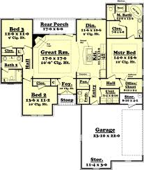 bedroom house floor plans with garage2799 room plan event lake