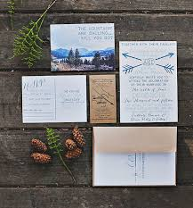 mountain wedding invitations rustic bohemian mountain wedding chelsea chris green wedding