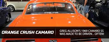 greg allison u0027s orange crush a 1969 camaro ss with a twist