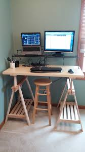 Diy Stand Up Desk Ikea by Diy Standing Desk Every Byte Counts