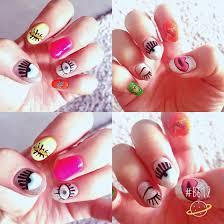 summer gel nails korean style gel nails pinterest summer gel