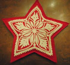 sandor great plain cutwork hungarian christmas tree topper hand
