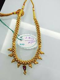 long gold beads necklace images Vishesh jewels gold wax beads kanthi necklaces rs 7000 piece jpeg
