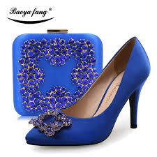 wedding shoes blue royal blue silver wedding shoes with matching bags