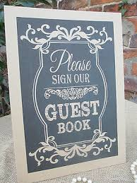 wedding wishes guest book book sign wish tree a4 size poster shabby chic chalkboard style