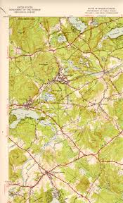 Map Of New England States by Westford Ma Quadrangle
