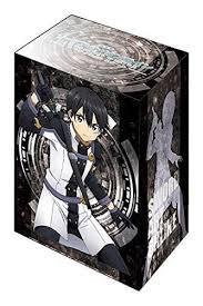 sword art online ordinal scale kirito deck box v2 vol 150 sao