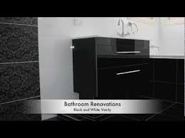 bathroom renovations brisbane black and white bathroom ideas