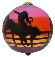 cowboy ornaments west gift shop
