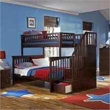 Twin Over Full Staircase Bunk Bed Foter - Stairway bunk bed twin over full
