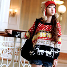buy 59 seconds nordic print sweater yesstyle