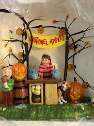 dept 56 halloween retired department 56 halloween caramel apple stand 55275 retired