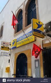 stock bureau maroc façade du bureau de poste à essaouira maroc banque d images photo