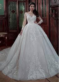 buy wedding dresses buy discount gorgeous tulle lace scoop neckline gown