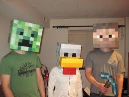 Craft Halloween Costumes Minecraft Halloween Costumes
