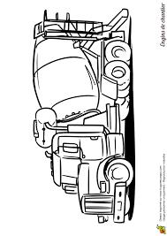 dessin d u0027une bétonnière de chantier à colorier dessin a imprimer