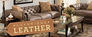 Pigmented Leather Sofa Luxurious Leather Raymour And Flanigan Furniture Design Center