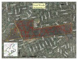 Frost Line Map Friends Of The East Brunswick Environmental Commission Frost Woods