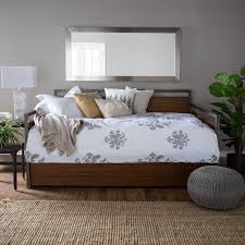 bedroom full daybed with trundle on pinterest design and white