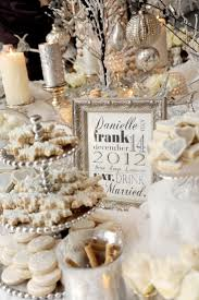 Cake Table Decorations by Table Decorations For A Winter Wedding House Design Ideas