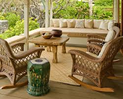 interior design hawaiian style great for upstairs balcony sitting area love the rocking chairs