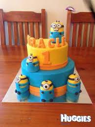 minion cake huggies birthday cake gallery huggies