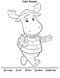 backyardigans coloring pages getcoloringpages com