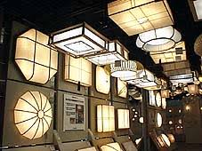 Japanese Ceiling Light Akari Lighting Lighting Museum Toshiba Showroom Smais 2 Lighting