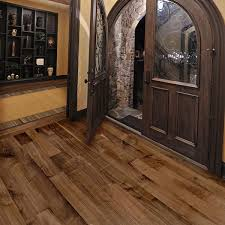 5 inch prefinished select rift and quartered walnut flooring