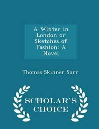 booktopia a winter in london or sketches of fashion a novel