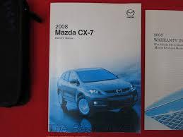 amazon com 2008 mazda cx 7 cx7 owners manual mazda automotive