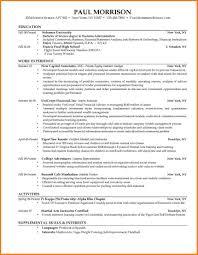 college student resume exles 8 college graduate resume exles ledger review