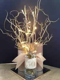 7 best images of 50th wedding anniversary table centerpieces
