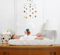 Changing Table Mobile Mobiles Aren T Just For The Crib Hanging A Mobile Above The