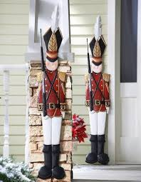 Outdoor Christmas Decorations Moose by 47 Best Outdoor Christmas Decorations Images On Pinterest