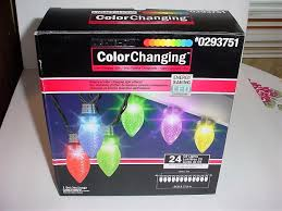 gemmy led color changing light show 24 lights c9 0293751 ebay