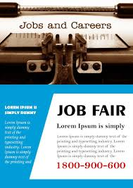 job fair flyer template 7 job fair flyers design templates free