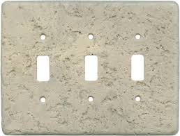 Travertine Switch Plates by Stonique Espresso Light Switch Plates Outlet Covers Wallplates
