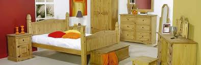 Corona Bedroom Furniture by Mexican Pine Furniture