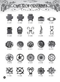 cast steel ornaments 007 wrought iron wrought iron components
