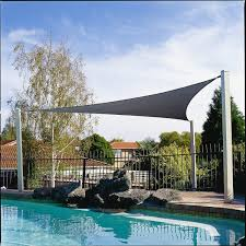 patio u0026 landscaping charming coolaroo shade sail design with pool