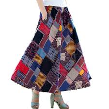 cotton skirts cotton printed skirts promotion shop for promotional cotton