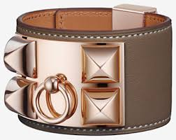 hermes bracelet leather images Leather jewelry for women hermes