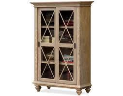 Sliding Door Bookcase Coventry Sliding Door Bookcase By Riverside Bruce Furniture