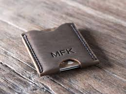 personalized gifts for him men s credit card holder personalized gifts for him gifts for men