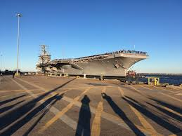 sailors with eisenhower strike group return home after 7 months