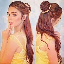 Disney Princess Hairstyles Best 25 Princess Belle Hair Ideas On Pinterest Belle Hair